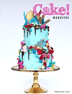 February 2016  Cake! magazine Free to read online, a digital magazine published quarterly by the Australian Cake Decorating Network.  Read all issues at www.cakemagazine.me