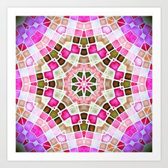 ManDAla Art Print by Monika Strigel - $19.00