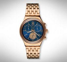 Swatch horloge Irony Blue Win - YCG409G