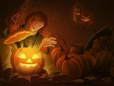 Wallpaper sur Halloween Enfants