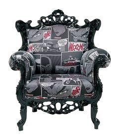 Butaca Vintage Mink Comic - Chair Vintage Mink Comic