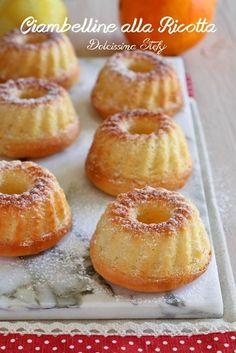 Ciambelle alla Ricotta, Limone e Arancia