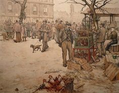 Bird Seller'S Market,Paris