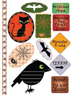 Free Scrapbook Elements - Halloween