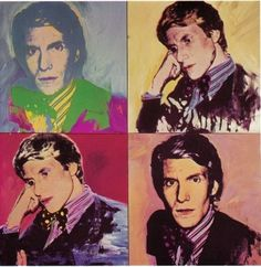 Yves Saint Laurent by Andy Warhol