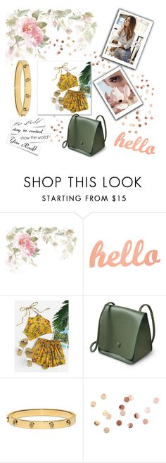 """""""Summer date"""" by nadina-2001 ❤ liked on Polyvore featuring Tory Burch and Umbra"""