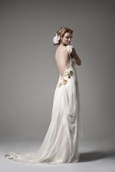 Pallas couture - Celestina - Wedding Dress - La Princesse Collection.  Out of a Midsummer Night Dream - very romantic!