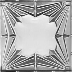 2405 Tin Ceiling Tile - Classic Opening Act - Clear Coated Aluminum by Decorative Ceiling Tiles Inc.. $14.50. Are you looking for the Stainless Steel Look? Then this is is your ticket. Our Clear Coated Aluminum tiles come fully finished and all you have to do with them is to install them to a plywood ceiling or drop them into a grid system. These tiles closely resemble the look of Stainless Steel. Using Tin Snips, these tiles can be easily cut to size and either nailed up o...