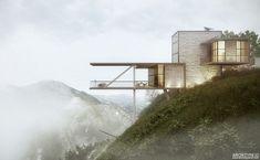 Особняк, спроектированный архитекторами Atchitype 3D.