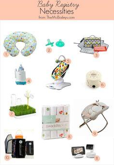 Baby Registry Necessities | TheMcBaileys.com