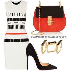 LIZ by elizabethhorrell on Polyvore featuring polyvore fashion style Narciso Rodriguez Christian Louboutin Chloé Joomi Lim