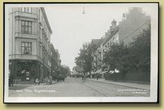 gammelt postkort fra Bogstadveien