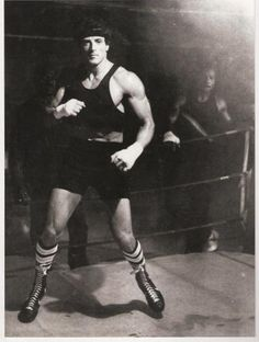 sly stallone photos | Sylvester Stallone, Rocky, Sly Stallone, b&w, training