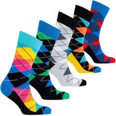 Argyle Socks, Happy Socks, Fun Socks, Socks Men, Awesome Beards, Trendy Fashion, Trendy Style, Men's Fashion, Patterned Socks