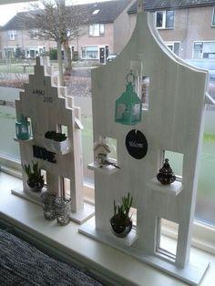 Wer wagt sich bereits an die Frühjahrsdekoration im Haus? Schauen Sie sich hier 9 Fensterideen für das Frühjahr an! - DIY Bastelideen