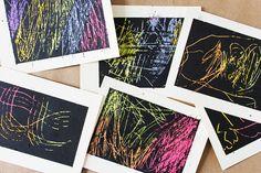 DIY+Art+Material:+Scratchboard+Cards