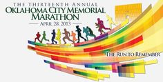 Getting excited for my 3rd Oklahoma City Memorial Marathon! The family is doing the 5K.