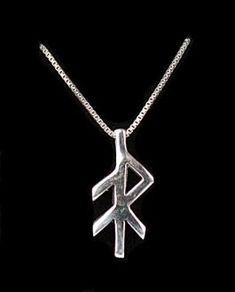 Sterling Rune Pendant - Energy                                                                                                                                                                                 More