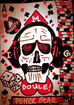 Pour un ami addict au poker, il se reconnait ;) by Azzaro