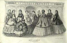 1860 Divatkép