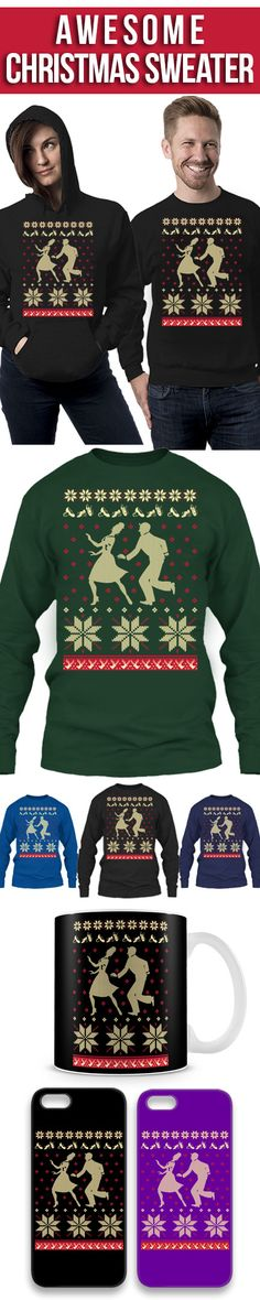 Tap Dance Christmas Sweater! Click The Image To Buy It Now or Tag Someone You Want To Buy This For. #tapdance