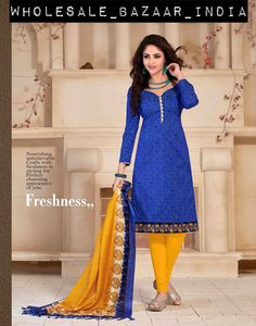 Indian Designer Dress Pakistani Bollywood Unstitched Suit Salwar Shalwar Kameez #WBI #ChuridarSalwarKameezSuitasshowninimage #Casual