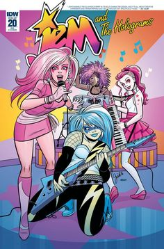 NM JEM AND THE HOLOGRAMS #6 Retailer Incentive Variant Cover!!