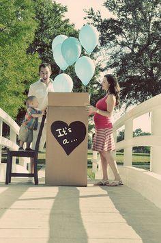Great idea zeggen dat je een zoon of dochter krijgt #zwangerschap