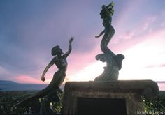 Statues on the Malecon
