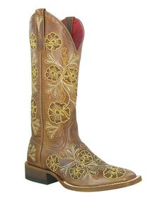 Look what I found on #zulily! Josephine Leather Cowboy Boot by Macie Bean #zulilyfinds