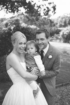 Family Wedding Photo, May Wedding, Spring Wedding, Wadhurst Castle Wedding, East Sussex, Quirky Short Dress, Tweed Suit Scottish, Rebecca Douglas Photography