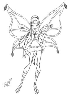 Roxy Enchantix Coloring By Fantazyme On DeviantArt Free ColoringColoring Pages For KidsColoring BooksColouringColor ActivitiesWinx