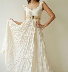 $40.50 perfect white summer maxi dress