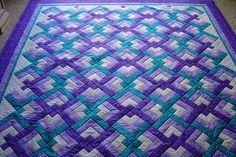 ☆ thank you for my pretty purple quilt, @Sara Eriksson Eriksson Eriksson Nowlin-Edens  :)