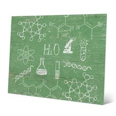 Click Wall Art Chemistry Graphic Art on Plaque Size: