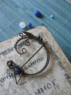 wire wrap brooch clasp - Google Search