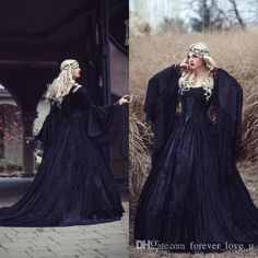 wholesale medieval wedding gowns
