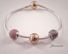 Tri-color Pandora Essence Pandora Bracelet Charms, Pandora Jewelry, Pandora Essence, Bellini, Women Jewelry, Women's Bracelets, Charmed, Jewerly, Silver