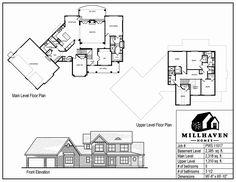 Millhaven Homes | Semi-Custom and Custom Floorplans - 5 bd plus office