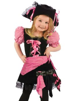 cute pink pirate costume    #Pirate #PirateCostume