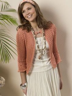 Crochet Turnberry Cardigan