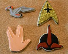 Trekkie Cookie Cutter Set
