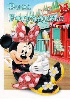 New single postcard with Minnie Disney