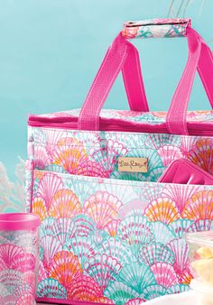Lilly Pulitzer Insulated Beach Cooler.