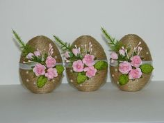 Image gallery – page 518617713337081227 – artofit – Artofit Jute Crafts, Egg Crafts, Easter Crafts, Diy And Crafts, Easter Egg Designs, Easter Table Decorations, Deco Floral, Easter Crochet, Easter Holidays
