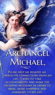 If you are ready to take control of your life and leave negativity behind, call on Archangel Michael for assistance. He can lend you the strength you need to lower energy and inauthentic connections for good. Spiritual Prayers, Catholic Prayers, Prayer For Protection, Angel Of Protection, Archangel Prayers, Angel Guide, Angel Quotes, Inspirational Prayers, Saint Michel