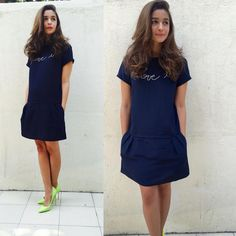 Wearing A Zadig & Voltaire dress