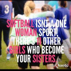 Softball ♡...true