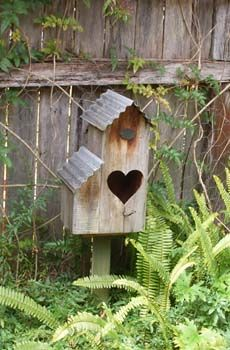 Not big on the heart but love the corrugated tin roof