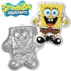 Maak een prachtige 3D SpongeBob SquarePants met deze bakvorm van Wilton.